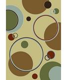 RugStudio presents KAS Monte Carlo II Eclipse Ivory 8379 Machine Woven, Good Quality Area Rug